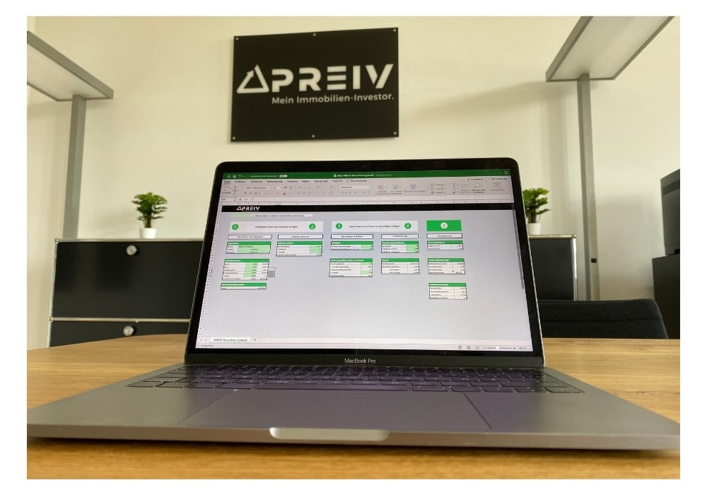 PREIV Immobilien GmbH_PREIV Berechnungstool Excel