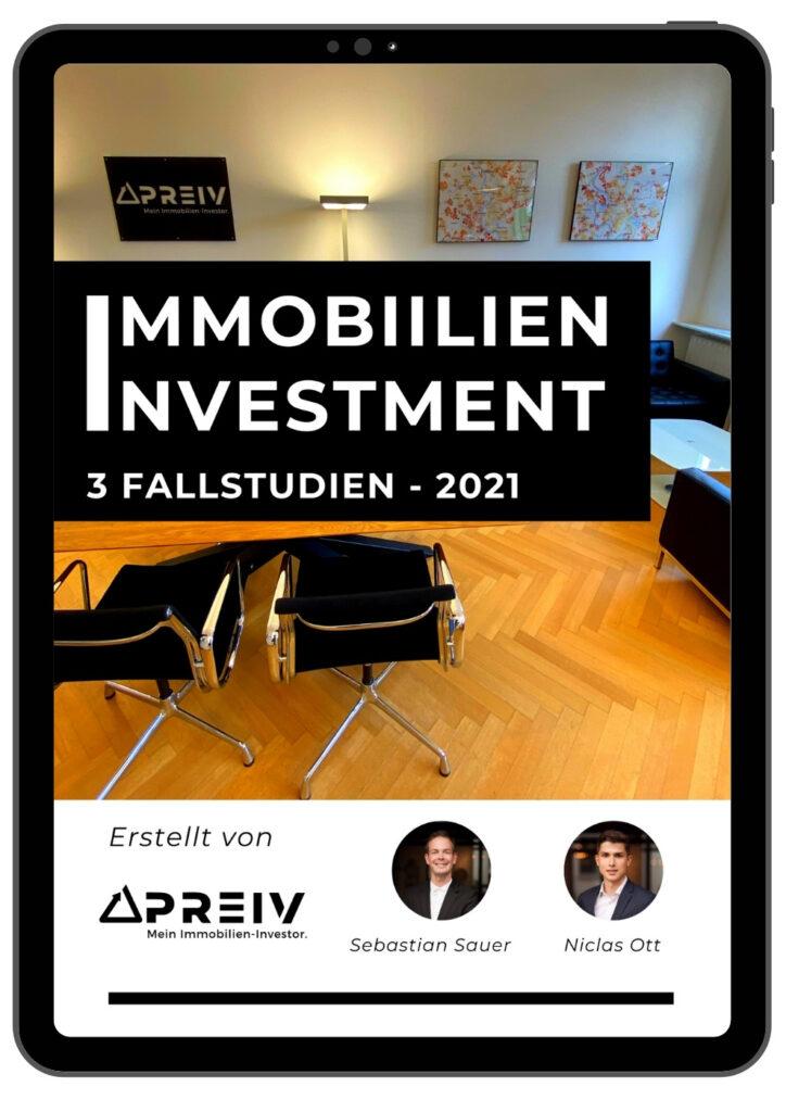PREIV Immobilien GmbH_Fallstudien Immobilien Investments 2021 Cover